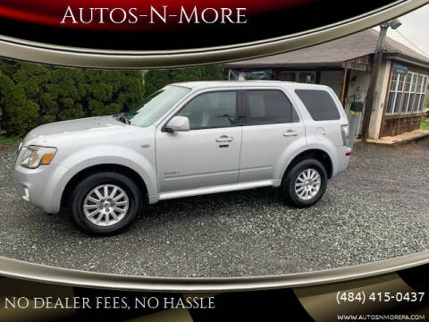 2008 Mercury Mariner for sale at Autos-N-More in Gilbertsville PA