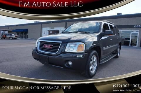 2003 GMC Envoy XL for sale at F.M Auto Sale LLC in Dallas TX