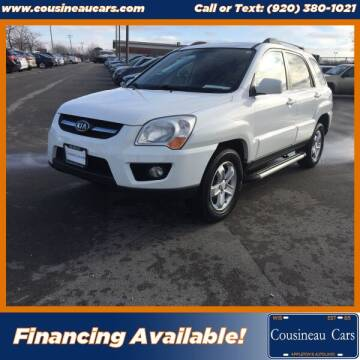 2009 Kia Sportage for sale at CousineauCars.com in Appleton WI