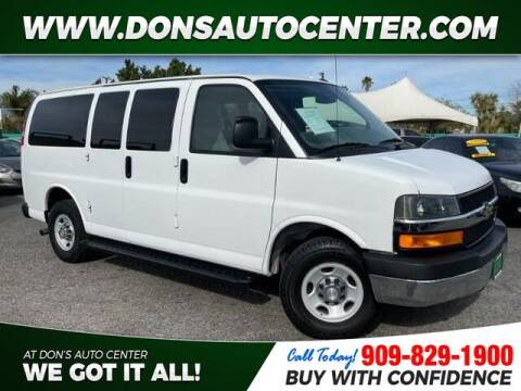 2011 Chevrolet Express Passenger for sale at Dons Auto Center in Fontana CA