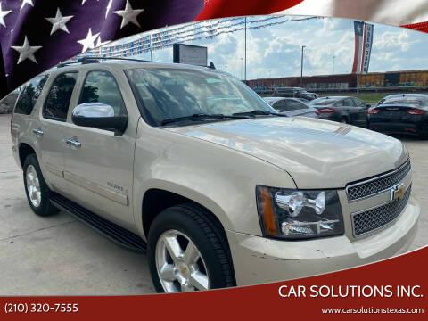 2008 Chevrolet Tahoe for sale at Car Solutions Inc. in San Antonio TX