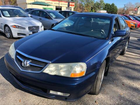 2002 Acura TL for sale at Atlantic Auto Sales in Garner NC