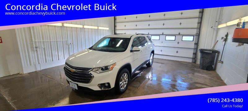 2021 Chevrolet Traverse for sale at Concordia Chevrolet Buick in Concordia KS