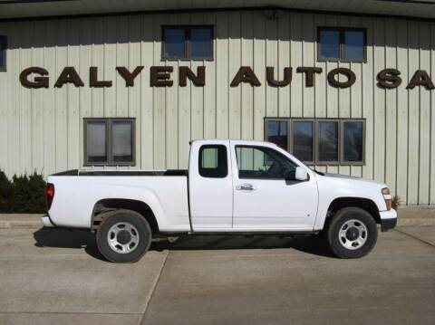 2009 Chevrolet Colorado for sale at Galyen Auto Sales Inc. in Atkinson NE