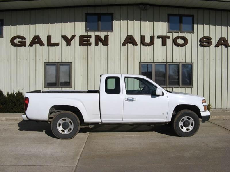 2009 Chevrolet Colorado for sale at Galyen Auto Sales Inc. in Atkinson NE