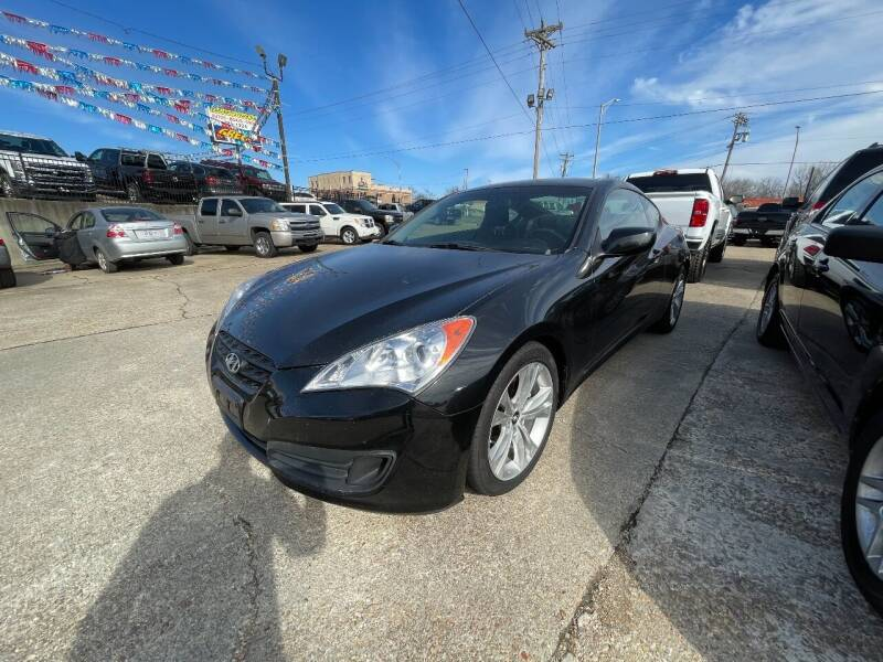 2012 Hyundai Genesis Coupe for sale at Greg's Auto Sales in Poplar Bluff MO