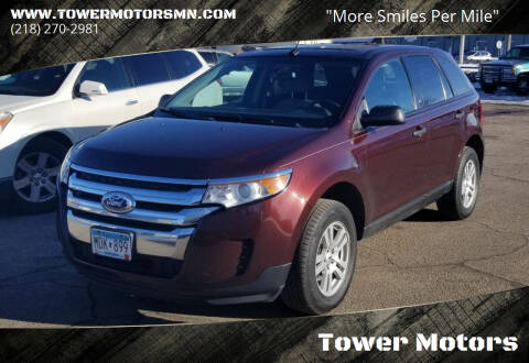 2012 Ford Edge for sale at Tower Motors in Brainerd MN