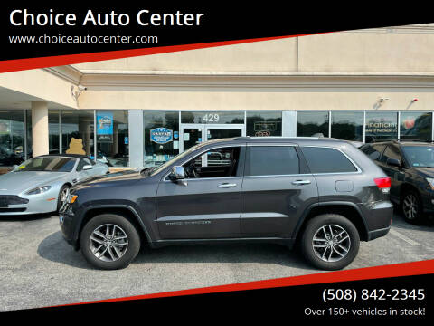 2018 Jeep Grand Cherokee for sale at Choice Auto Center in Shrewsbury MA