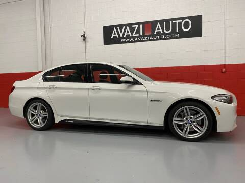 2014 BMW 5 Series for sale at AVAZI AUTO GROUP LLC in Gaithersburg MD