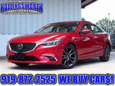 2016 Mazda MAZDA6 for sale at Hollingsworth Auto Sales in Raleigh NC