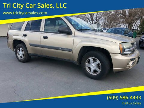 2004 Chevrolet TrailBlazer for sale at Tri City Car Sales, LLC in Kennewick WA
