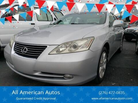 2007 Lexus ES 350 for sale at All American Autos in Kingsport TN