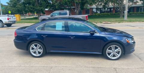 2014 Volkswagen Passat for sale at Mulder Auto Tire and Lube in Orange City IA