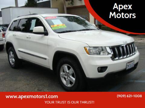 2011 Jeep Grand Cherokee for sale at Apex Motors in Montclair CA