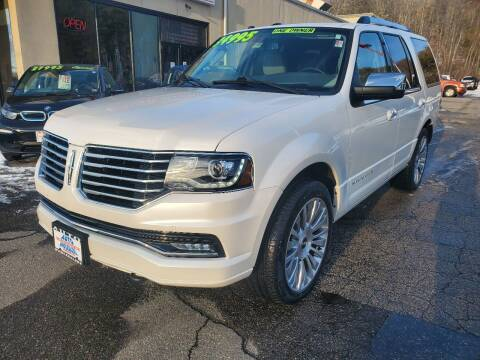 2017 Lincoln Navigator for sale at Auto Wholesalers Of Hooksett in Hooksett NH
