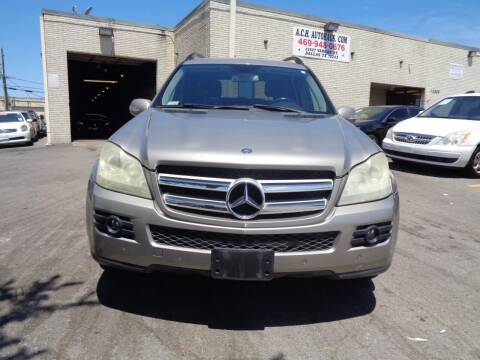 2007 Mercedes-Benz GL-Class for sale at ACH AutoHaus in Dallas TX