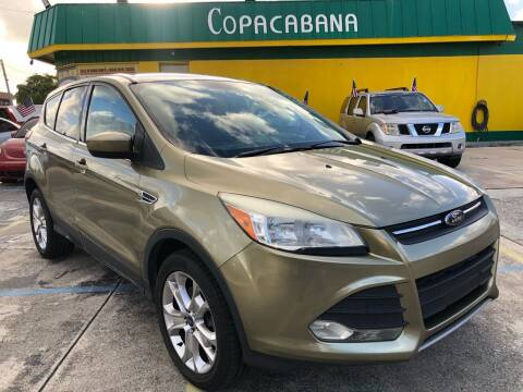 2013 Ford Escape for sale at Trans Copacabana Auto Sales in Hollywood FL