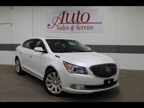 2016 Buick LaCrosse for sale at Auto Sales & Service Wholesale in Indianapolis IN