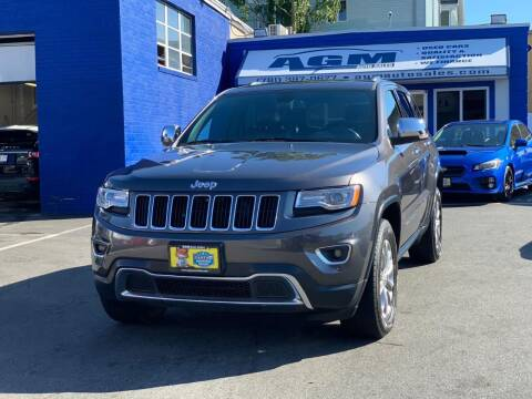 2015 Jeep Grand Cherokee for sale at AGM AUTO SALES in Malden MA