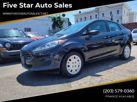 2014 Ford Fiesta for sale at Five Star Auto Sales in Bridgeport CT