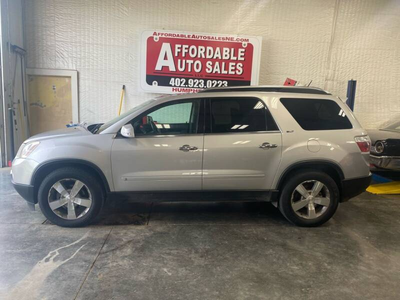 2009 GMC Acadia for sale at Affordable Auto Sales in Humphrey NE