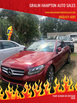 2017 Mercedes-Benz C-Class for sale at Gralin Hampton Auto Sales in Summerville SC