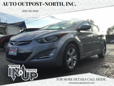 2016 Hyundai Elantra for sale at Auto Outpost-North, Inc. in McHenry IL