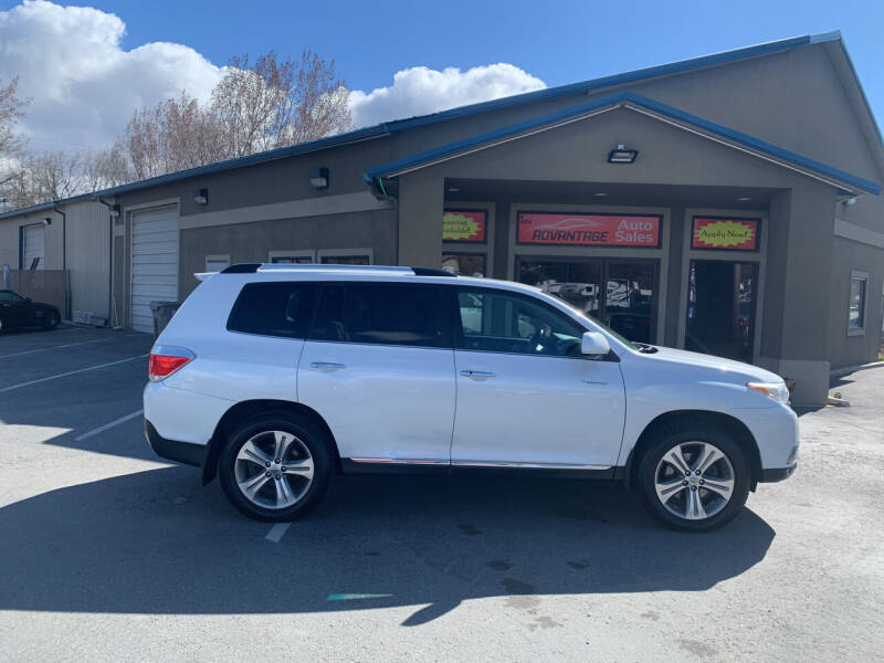 2012 Toyota Highlander for sale at Advantage Auto Sales in Garden City ID