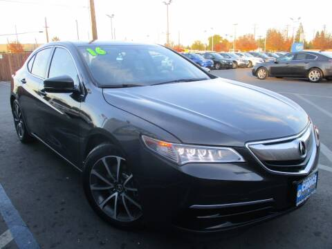 2016 Acura TLX for sale at Choice Auto & Truck in Sacramento CA