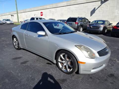 2004 Infiniti G35 for sale at DONNY MILLS AUTO SALES in Largo FL