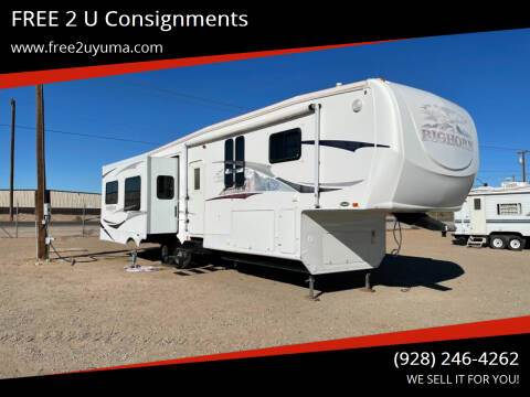 2008 Heartland Bighorn for sale at FREE 2 U Consignments in Yuma AZ