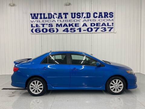 2010 Toyota Corolla for sale at Wildcat Used Cars in Somerset KY