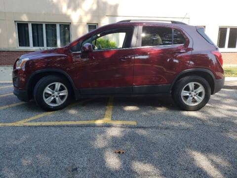 2016 Chevrolet Trax for sale at The Car Mart in Milford IN