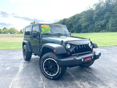 2010 Jeep Wrangler for sale at A & S Auto and Truck Sales in Platte City MO