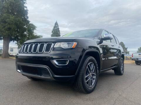 2017 Jeep Grand Cherokee for sale at Pacific Auto LLC in Woodburn OR