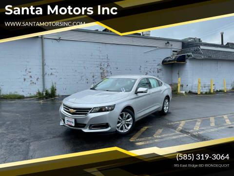 2016 Chevrolet Impala for sale at Santa Motors Inc in Rochester NY