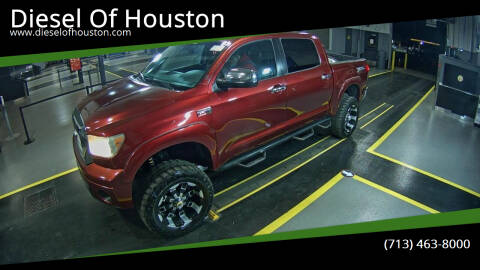 2008 Toyota Tundra for sale at Diesel Of Houston in Houston TX