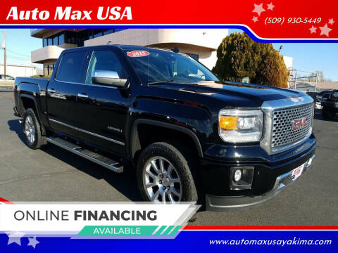 2015 GMC Sierra 1500 for sale at Auto Max USA in Yakima WA