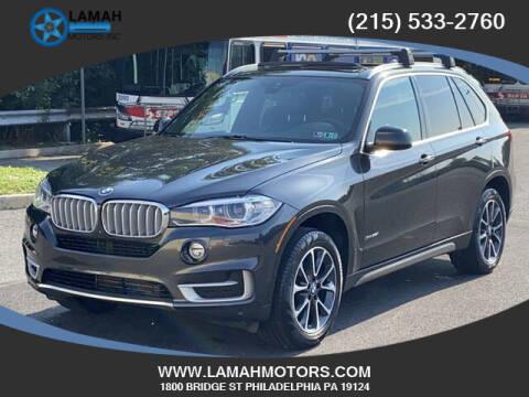 2017 BMW X5 for sale at LAMAH MOTORS INC in Philadelphia PA