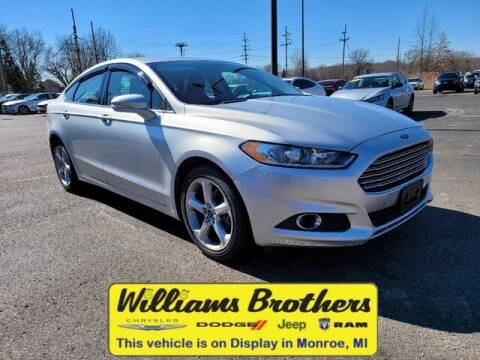 2016 Ford Fusion for sale at Williams Brothers - Pre-Owned Monroe in Monroe MI