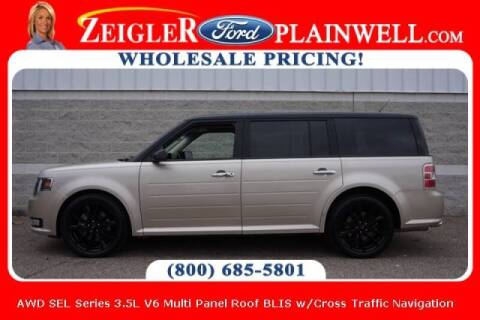 2017 Ford Flex for sale at Zeigler Ford of Plainwell- michael davis in Plainwell MI