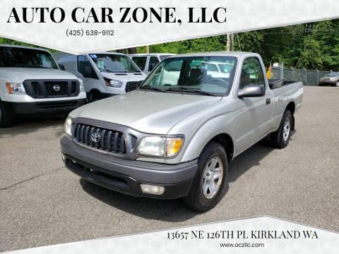 2004 Toyota Tacoma for sale at Auto Car Zone, LLC in Kirkland WA