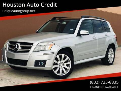 2012 Mercedes-Benz GLK for sale at Houston Auto Credit in Houston TX