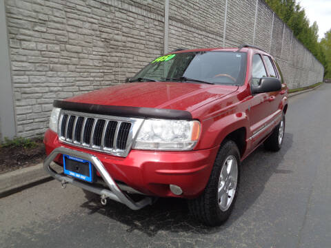 2004 Jeep Grand Cherokee for sale at Matthews Motors LLC in Algona WA