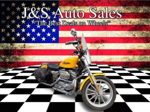 2000 Harley-Davidson Sportster for sale at J & S Auto Sales in Clarksville TN