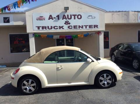 2006 Volkswagen New Beetle for sale at A-1 AUTO AND TRUCK CENTER in Memphis TN