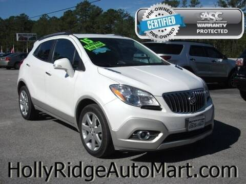 2015 Buick Encore for sale at Holly Ridge Auto Mart in Holly Ridge NC