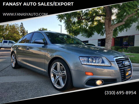 2011 Audi A6 for sale at FANASY AUTO SALES/EXPORT in Yorba Linda CA
