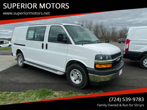 2019 Chevrolet Express Cargo for sale at SUPERIOR MOTORS in Latrobe PA