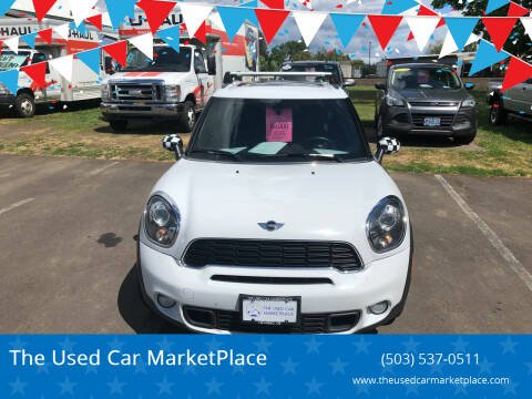 2012 MINI Cooper Countryman for sale at The Used Car MarketPlace in Newberg OR
